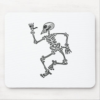 Dancing Skeleton Mousepad