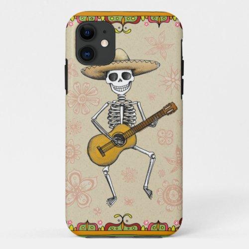 Dancing Skeleton Muertos iPhone 5/5S Case Phone Case