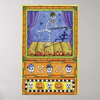 Dancing Skeleton Print