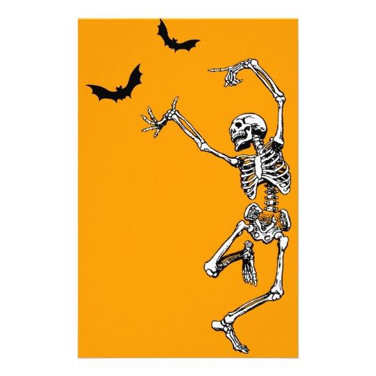 Dancing Skeleton Stationery