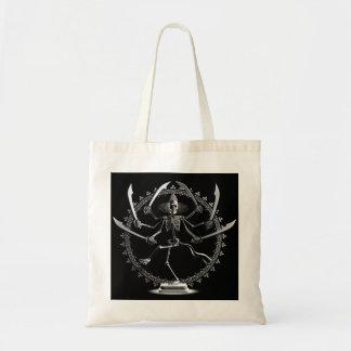 Dancing Skeleton Warrior Bag