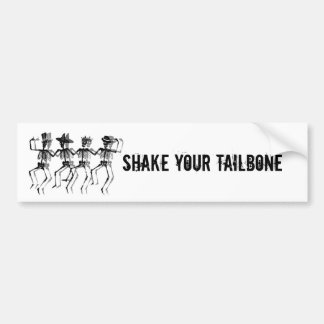 Dancing Skeletons Bumper Sticker