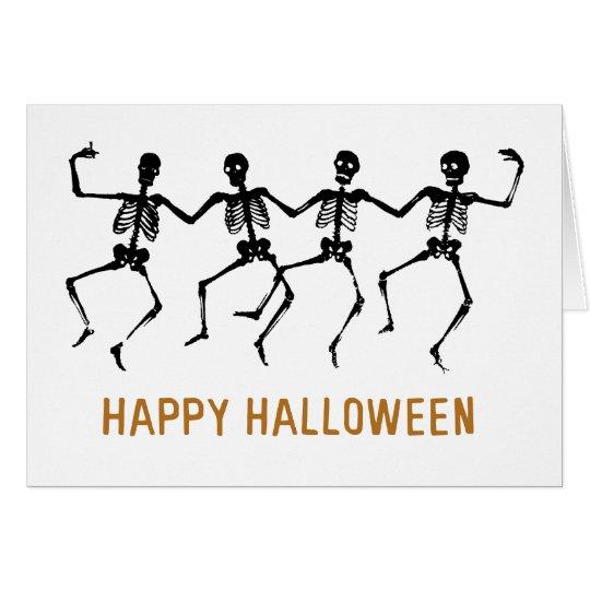 Dancing Skeletons Card