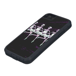 Dancing skeletons iPhone 5 cover