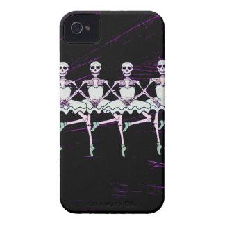 dancing skeletons iPhone 4 cover