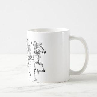 Dancing Skeletons Coffee Mug