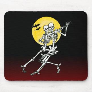 dancing skeletons dancing skeletons mouse pad