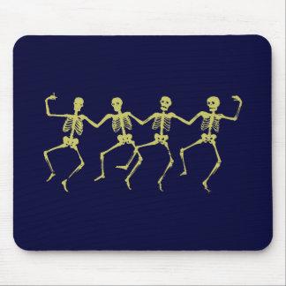 dancing skeletons dancing skeletons mouse pads