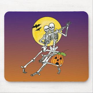 dancing skeletons dancing skeletons mousepad