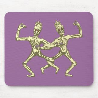 dancing skeletons dancing skeletons mousepads