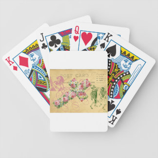 Dancing Skeletons Day Of The Dead Cinco De Mayo Bicycle Playing Cards