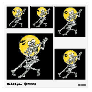 Dancing Skeletons Halloween Party Pack Wall Decal