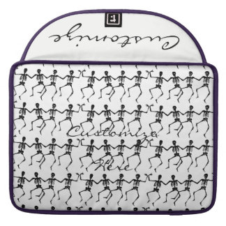Dancing Skeletons Halloween Thunder_Cove Sleeve For MacBook Pro