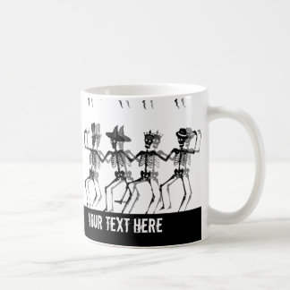 Dancing Skeletons (HolidayMix) Coffee Mug