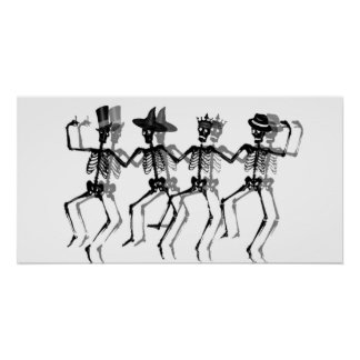 Dancing Skeletons (HolidayMix) Poster