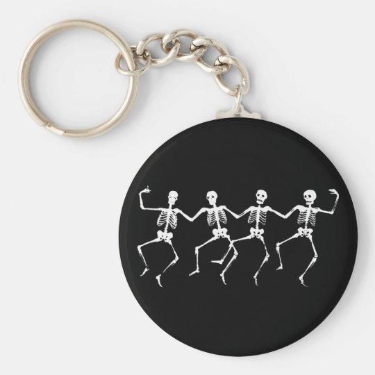 Dancing Skeletons II Keychain