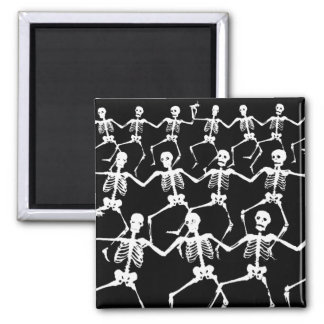 Dancing Skeletons II Magnets