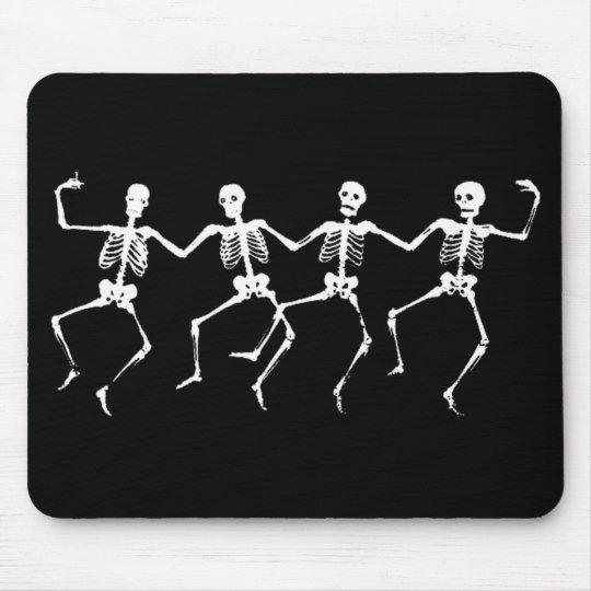 Dancing Skeletons II Mouse Pad