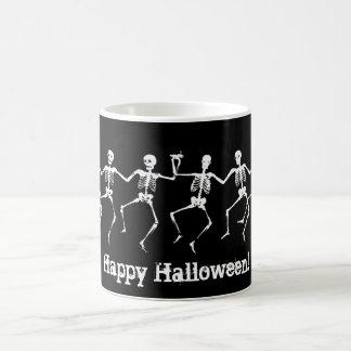 Dancing Skeletons II Classic White Coffee Mug