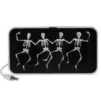 Dancing Skeletons II iPod Speakers