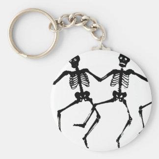 Dancing Skeletons Keychains