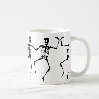 Dancing Skeletons. MEGABYTE Coffee Mug