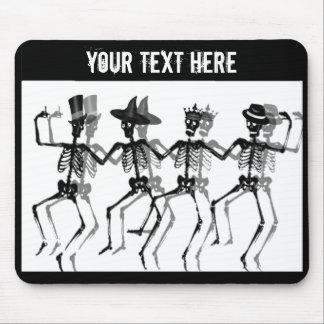 Dancing Skeletons Mousepads
