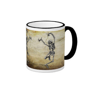 Dancing Skeletons Coffee Mugs