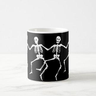 Dancing Skeletons. MW. Coffee Mug