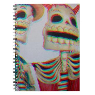 Dancing Skeletons Note Book