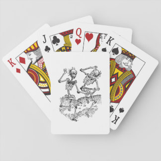 Dancing Skeletons Playing Cards