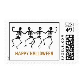 Dancing Skeletons Postage