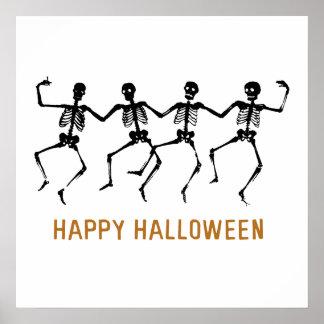 Dancing Skeletons Print