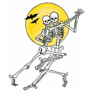 Dancing Skeletons shirt
