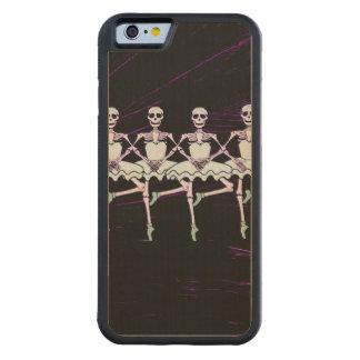 Dancing skeletons carved® maple iPhone 6 bumper case