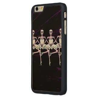 Dancing skeletons carved® maple iPhone 6 plus case
