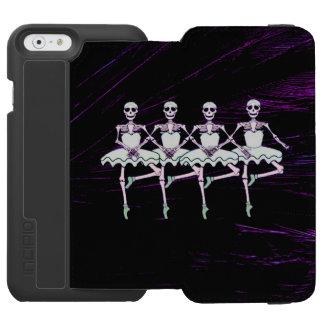 Dancing skeletons incipio watson™ iPhone 6 wallet case