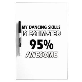 dancing skills Dry-Erase board