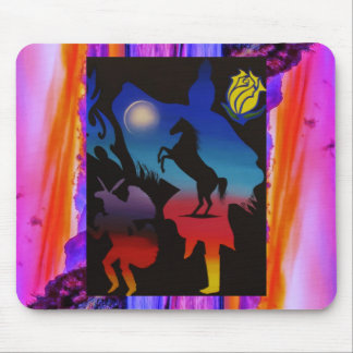 Dancing Sky a Mouse Pad