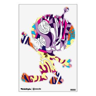"""""""Dancing Sky Reaching Hill"""" Abstract Art Sm Alien Wall Sticker"""