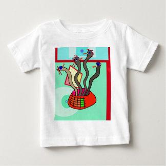 Dancing snakes baby T-Shirt