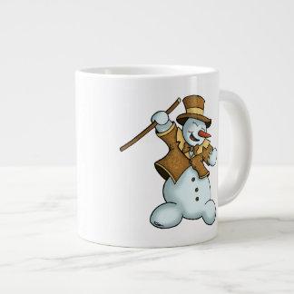 dancing snowman holiday specialty mug