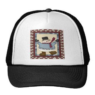 Dancing Snowman Trucker Hat