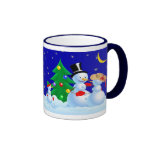 Dancing Snowmen Mugs