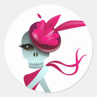 Dancing Solo Skull Sticker
