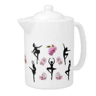 Dancing Spirits Teapot