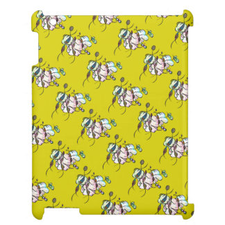 Dancing sprites & fairies - tribal bee pattern cover for the iPad