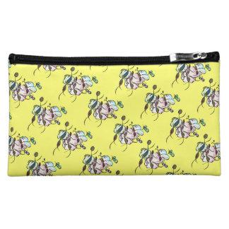 Dancing sprites & fairies - tribal cute pattern cosmetic bag