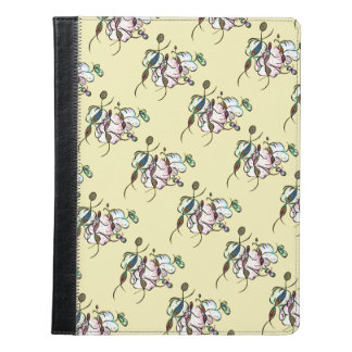 Dancing sprites & fairies - tribal pattern dreamy iPad case