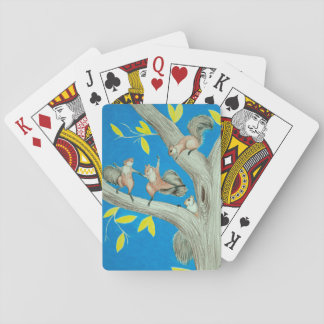 Dancing Squirrel Playing Card Deck